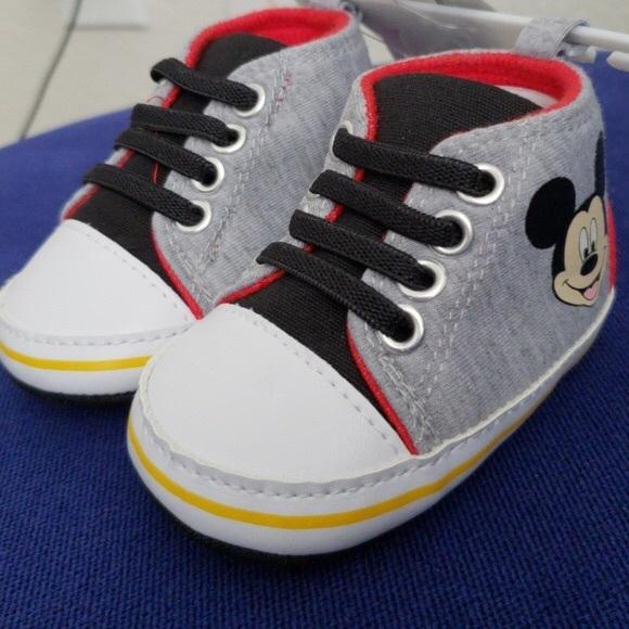 Disney Baby Mickey Mouse Shoes   Poshmark